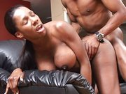Reife Ebony mit dicke Titten anal Porn