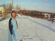 Snowboarderin im Urlaub gefickt privater Porno