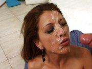 Meine Frau steht auf Sperma ins Gesicht