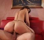 Geile Hausfrauenporno Amateurhausfrau mit xxl Arsch im free porn