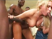 Anna Nova  – MIILF gangbanged by blacks