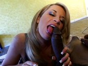 Interracial smoking blowjob fun