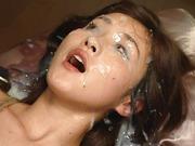 Extreme Bukkake Eye Cum – Japanese