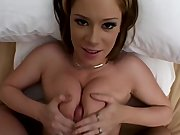 Amee takes a mouthful, twice in POV style!