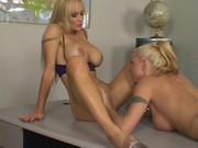 Lesbian Centerfolds scene 1