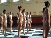 Gymnastik Lesben beim Sport Sexy Lesben Spannervideo