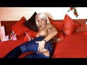 Dicker dildo im Arsch und Fotze anal Porn